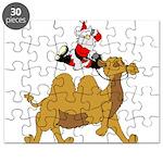 Camel Rodeo Santa Puzzle