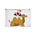 Camel Rodeo Santa Makeup Bag