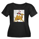 Camel Rodeo Santa Plus Size T-Shirt