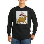 Camel Rodeo Santa Long Sleeve T-Shirt