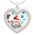 Scuba Diving Santa Necklaces