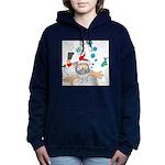 Scuba Diving Santa Sweatshirt