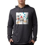 Scuba Diving Santa Long Sleeve T-Shirt