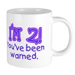 warnedabout2 20 oz Ceramic Mega Mug