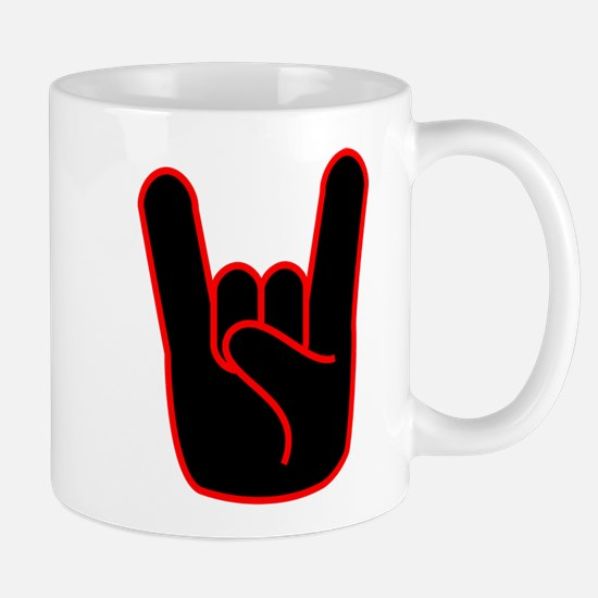 Heavy Metal Horns Mug