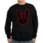Heavy Metal Horns Sweatshirt (dark)