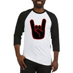 Heavy Metal Horns Baseball Jersey