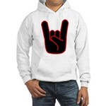 Heavy Metal Horns Hooded Sweatshirt