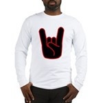 Heavy Metal Horns Long Sleeve T-Shirt