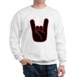 Heavy Metal Horns Sweatshirt