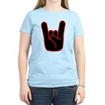 Heavy Metal Horns Women's Light T-Shirt