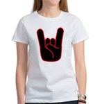 Heavy Metal Horns Women's T-Shirt