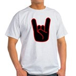 Heavy Metal Horns Light T-Shirt