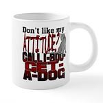 1-800-GET-A-DOG 20 oz Ceramic Mega Mug