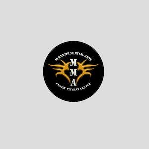 MMA Logo 2 - Gold White - Mini Button