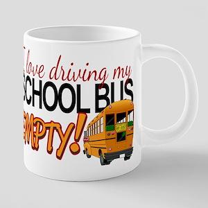 Bus Driver - Empty Bus 20 oz Ceramic Mega Mug