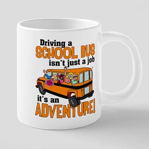 Driving a School Bus 20 oz Ceramic Mega Mug