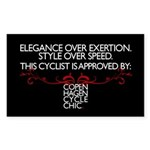 Elegance Over Exertion - Style Over Speed