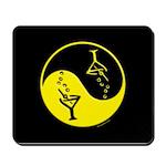 Yellow Zen Of Martinis Mousepad