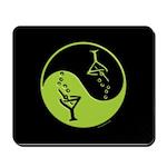 Green Zen of Martinis Mousepad