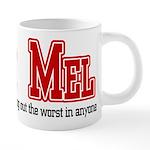 Team Mel 20 oz Ceramic Mega Mug