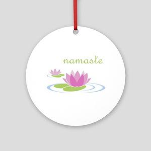 namaste Ornament (Round)