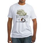 Money Over Morals Fitted T-Shirt