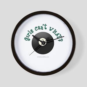 Billiards Eight Ball Wall Clock