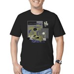 Floppy Disk Geek Men's Fitted T-Shirt (dark)