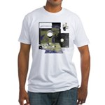 Floppy Disk Geek Fitted T-Shirt