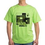 Floppy Disk Geek Green T-Shirt