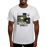 Floppy Disk Geek Light T-Shirt