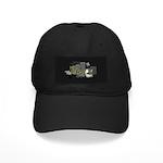 Floppy Disk Geek Black Cap