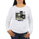 Floppy Disk Geek Women's Long Sleeve T-Shirt