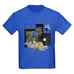 Floppy Disk Geek Kids Dark T-Shirt