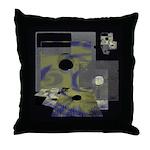 Floppy Disk Geek Throw Pillow
