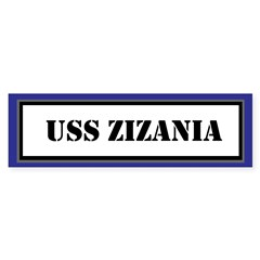 USS Zizania Sticker (Bumper)