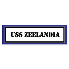 USS Zeelandia Sticker (Bumper)