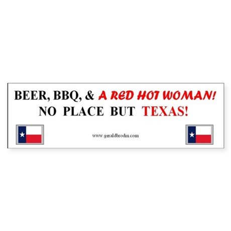 Welcome to Texas! #881 Sticker (Bumper)