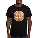 Happy Pi Day 3/14 Circular De Men's Fitted T-Shirt