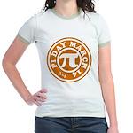 Happy Pi Day 3/14 Circular De Jr. Ringer T-Shirt