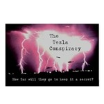 Tesla Conspiracy Postcards (Package of 8)