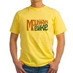 Mountain Bike Yellow T-Shirt