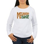 Mountain Bike Women's Long Sleeve T-Shirt