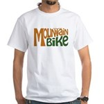 Mountain Bike White T-Shirt