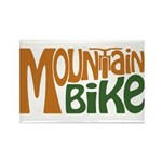 Mountain Bike Rectangle Magnet