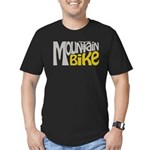 Mountain Bike Men's Fitted T-Shirt (dark)
