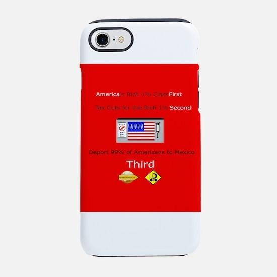 America First iPhone 7 Tough Case