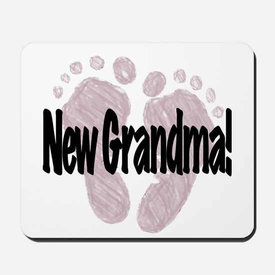 New Grandma (Girl) Mousepad