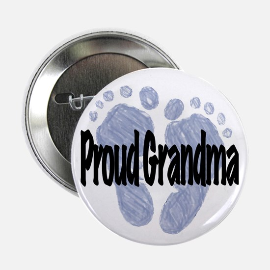 "Proud Grandma (Boy) 2.25"" Button"